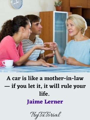 Bad Mother In Law Quotes And Sayings
