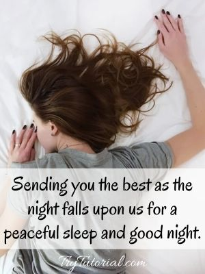 Best Good Night Message To My Sweetheart