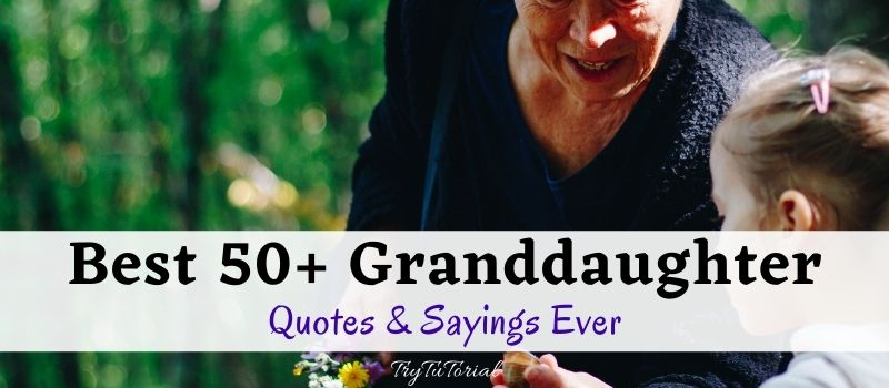 Best Granddaughter Quotes & Sayings