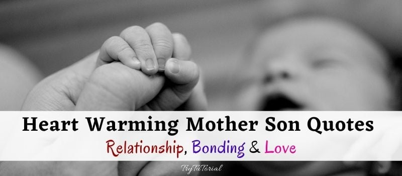 Best Mother Son Quotes