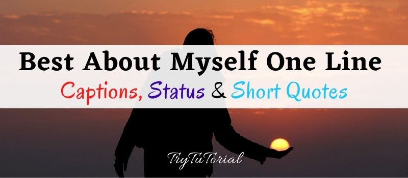 100+ Best One Line About Myself Status, Captions, Short Quotes