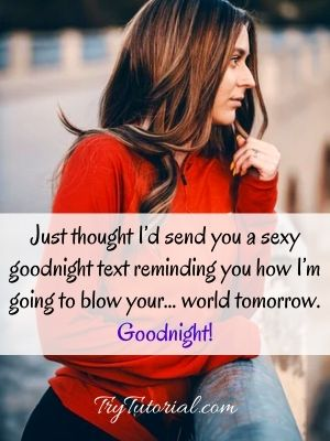 Best Sexy Good Night Quotes