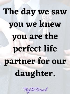 Future Son In Law Quotes & Sayings