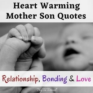 Mother Son Quotes