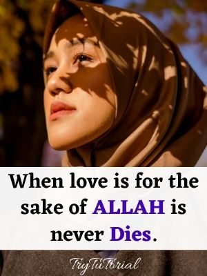 Muslim Girl Love Quotes
