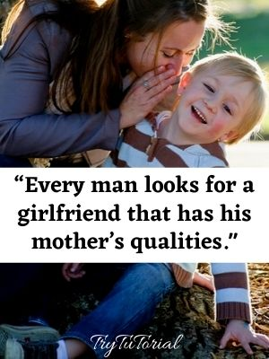 Short Mother Son Quotes For Captions
