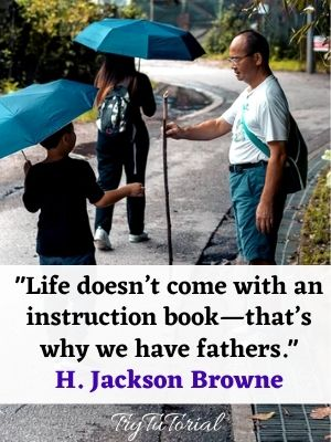 Son To Father Quotes On Relationship
