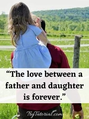 Special Father Quotes From Daughter