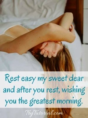 Sweet Good Night Message For Her