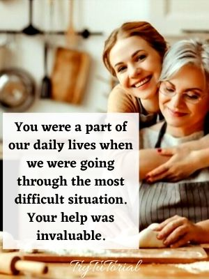 Thank you mother-in-law quotes