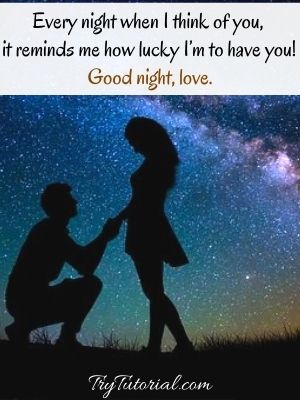Cute Good Night Love Quotes For Her