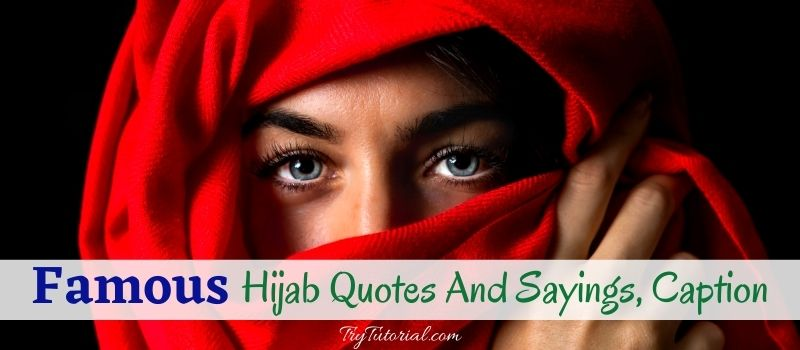 Hijab Quotes, Sayings and caption