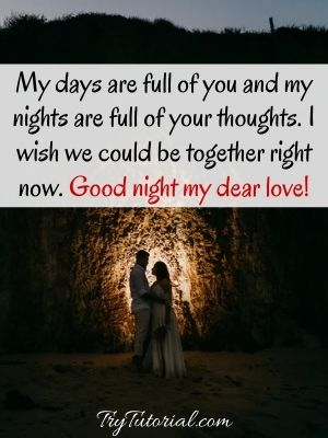 Special Good Night Love Quotes & Messages For Him