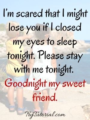 Good Night Message For A Special friend