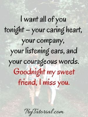 Good Night Quotes For Darling friends
