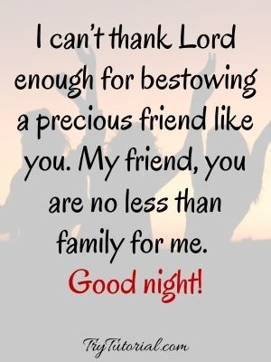 Heart Touching Night Messages For Friends