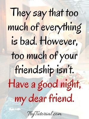 200+ Heart Touching Good Night Quotes For Friends [currentyear] 2