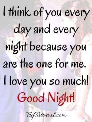 Sweet Good Night Love Quotes