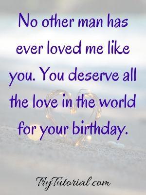 Birthday One Line Caption For Boyfriend
