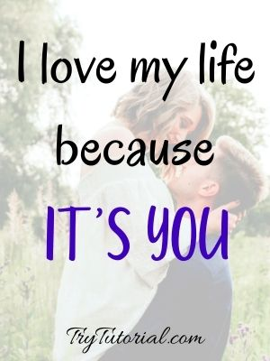 Cute Quotes For One Line Caption For Boyfriend