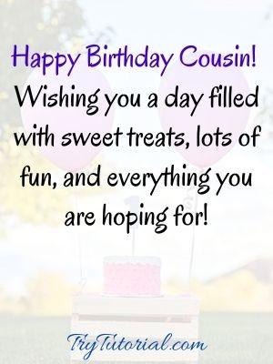Funny happy birthday cousin