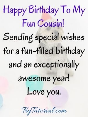 Happy birthday beautiful cousin images