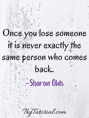 Lost Relationship Sad Quotes