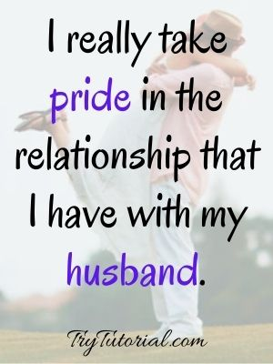One Line Husband Quotes From Wife