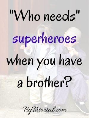Superhero Sibling Captions