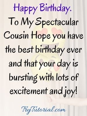 birthday images for cousin male