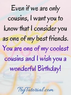 happy birthday cousin female images