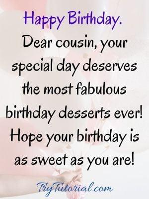 happy birthday cousin sister