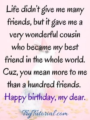 happy birthday to cousin images