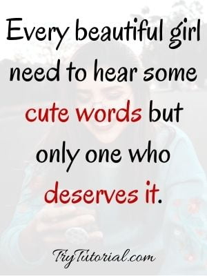 Awesome Girly Attitude Quotes For Captions