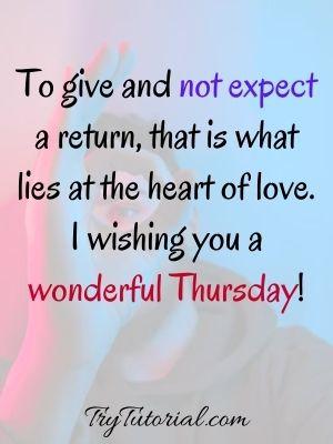 Beautiful Thursday Wish Images