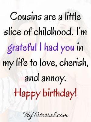 Best Happy Birthday Cuz Wishes For Instagram And Facebook