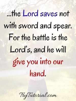 Bible Verse For Saturday Blessing Prayer