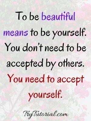Confident Body Image Quotes
