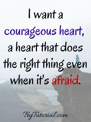 Courageous Strong Woman Captions