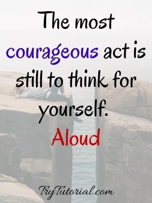 Courageous Strong Woman Quotes