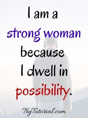 Extremely Courageous Woman Quotes