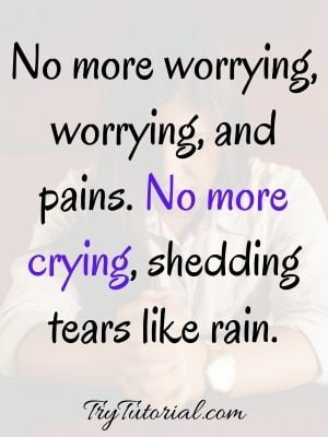 Faith And Worry Images