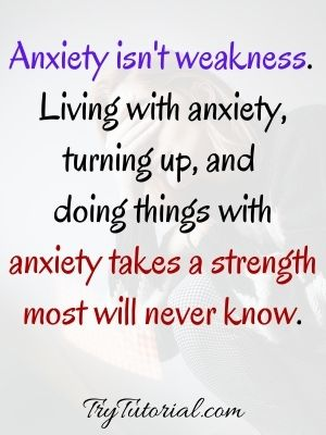 Funny Strength Quotes About Worry