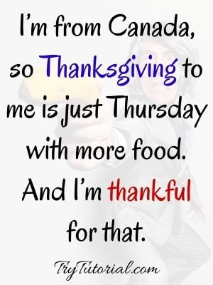 Funny Thankful Thursday Blessings