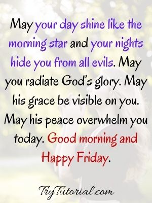 Good Morning Friday Blessings Quotes