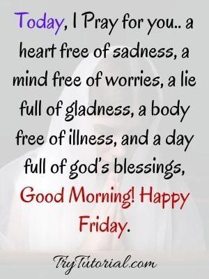 Good Morning Friday Blessings