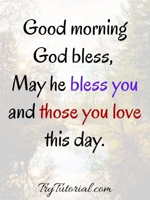 May He Bless You and those you love