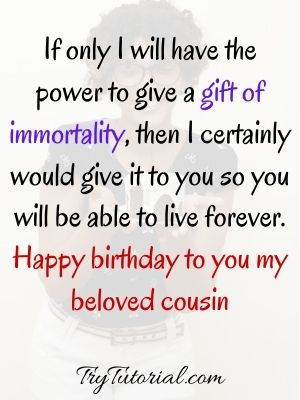 Happy Birthday Wish For Cousins Images