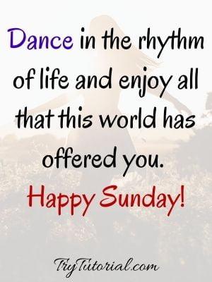 Happy Sunday Captions