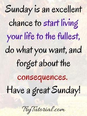 Happy Sunday Insta Captions